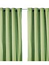 Un Panou Tratamentul fereastră Modern Mată Poliester Material perdele, draperii Pagina de decorare