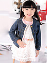 Fata Jeans Coat Lace Edge Cute Jacket