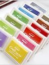 pad DIY cerneală ambarcațiuni de scrapbooking (Color asortate)