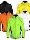 WEST BIKING® Herr Cykeljacka Cykel Solskyddande kläder / Vindjackor / Jacka Vindtät, Andningsfunktion, Reflexremsa Lappverk Orange / Gul