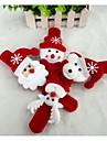 Cadouri de Crăciun Christmas Toys Bandă Jucarii Om de zapada Drăguț Mos Craciun de Copil Copii 1 Bucăți