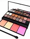 20 farver -jenskygger / Pudder -jne Daglig makeup / Halloweenmakeup / Festmakeup Makeup Kosmetiske / Mat / Glans