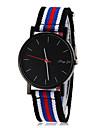 Bărbați Ceas de Mână Quartz Material Bandă Multicolor Portocaliu Negru/Roșu Roșu/albastru Kaki Negru/Albastru