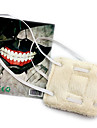Mască Inspirat de Tokyo Ghoul Cosplay Anime Accesorii Cosplay Mască Alb Lână polară Bărbătesc