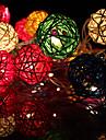 20led 2,5 Crăciun decorative lumini șir rattan (AC220V), de culoare aleatoare