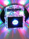 LightMyself™ Takmonterad Glödande - Kristall Ministil LED, 90-240V, Varmt vit Kall vit RGB, LED-ljuskälla ingår