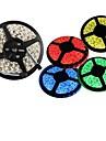 ZDM® Flexibla LED-ljusslingor lysdioder Varmvit Vit Grön Gul Blå Röd Klippbar Vattentät Självhäftande Kopplingsbar DC 12V DC 12 V
