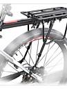 Porte-bagages de velo Ajustable Velo tout terrain / VTT / Velo de Route Alliage d'aluminium Noir