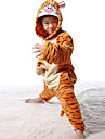 kigurumi Pyjamas Tiger Collant/Combinaison Fete / Celebration Pyjamas Animale Halloween Mosaique Kigurumi Pour Enfant Halloween