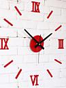 "Modern/Contemporan Altele Ceas de perete,Rotund Acrilic 10 x 10 x 8(3.9"" x 3.9"" x 3"") Interior Ceas"