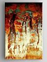 Pictat manual Abstract Un Panou Canava Hang-pictate pictură în ulei For Pagina de decorare