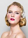 Cristal / Material Textil Diademe / Birdcage Veils cu 1 Nuntă / Ocazie specială / Party / Seara Diadema