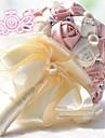 """Flori de Nuntă Rotund Trandafiri Buchete Nuntă Poliester Dantelă Ștras 7.87""""(Approx.20cm)"""