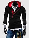 Hoodies & Bluze ( Bumbac/Poliester )de A bărbaților - Informal/Sport Mânecă Lungă