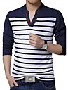 Tee-shirt Grandes Tailles Homme, Raye
