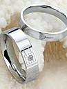 Pentru cupluri Inele Cuplu costum de bijuterii Oțel titan Bijuterii Pentru Nuntă Petrecere Zilnic Casual Sport