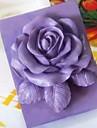 bakformen Blomma Paj Kaka Tårta Silikon Gummi Miljövänlig Hög kvalitet 3D