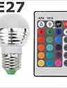 300-500lm E26 / E27 Bulb LED Glob LED-uri de margele SMD 2835 RGB 85-265V