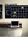Tableau noir Stickers muraux Tableaux Noirs Muraux Autocollants Autocollants muraux décoratifs, Vinyle Décoration d'intérieur Calque Mural