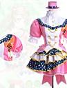 Inspirerad av Love Live Kotori Minami Animé Cosplay-kostymer cosplay Suits Lappverk Kortärmad Skjorta Kjol Huvudbonad Till Dam