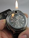 Bărbați Ceas de Mână Unic Creative ceas Quartz brichetă Silicon Bandă Negru Alb Negru