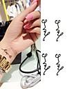 1 Tatueringsklistermärken Annat Ogiftig Ländrygg VattentätBarn Dam Herr Vuxen Tonåring Blixttatuering tillfälliga tatueringar