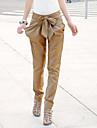 Pentru femei Talie Joasă Harem Blugi Pantaloni Stil modern Culoare solidă