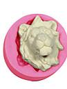 lions lions de decoration gateau moule en silicone tete moule pour fondant artisanat de bijoux bonbons chocolat argile de resine de PMC