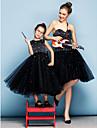 Haine Bal In Formă de Inimă Lungime Genunchi Tulle Seară Formală Rochie cu Mărgele Detalii Cristal de TS Couture®