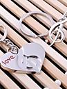 Valentine Favoruri de partid și Cadouri-2Piesă/Set Savori Tip Breloc Oțel inoxidabil Nepersonalizat