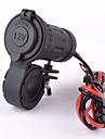 motorcykel bil vattentät plug socket adapter 12V / 24V