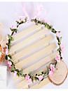 Pentru femei Fete Flori Vintage Elegant Ajustabile Nuntă, Material Textil Bandană Στεφάνια