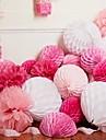 Petrecere Nuntă Hârtie perlă Material amestecat Decoratiuni nunta Temă Plajă Temă Grădină Temă Florală Temă Flurure Temă Clasică Iarnă