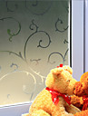 Copaci/Frunze Rustic Geam Film,PVC a vinyl Material fereastra de decorare
