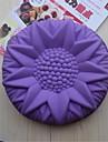 bakeware silikon solros bakformar för chokladkaka gelé (slumpmässiga färger)