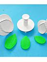 bakformen För Tårtor för bröd för choklad Plast Miljövänlig Hög kvalitet 3D