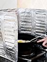 eau cuisine résister aluminium huile de cuisson de papier déflecteur d'huile séparant papier 38x78cm
