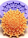 matrite bakeware floare de silicon de copt pentru tort fondantă bomboane de ciocolata (culori aleatorii)