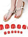 70pcs Nagel kunst Manicure pedicure ABS Abstract / Klassiek / Bruiloft Dagelijks