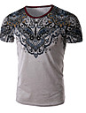 Tee-shirt Grandes Tailles Homme Imprime