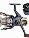 Fiskerullar Karp Fiske Rulle 5.2:1 Växlingsförhållande+10 Kullager utbytbar Sjöfiske Spinnfiske Färskvatten Fiske Trolling & Båt Fiske