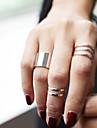 Žene Komplet nakita Prestenje knuckle ring - Legura dame, Personalized, Moda Jewelry Pink / Zlatan Za Party Dnevno Kauzalni Sport Prilagodljive