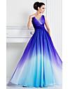 Homecoming ts couture rochie de seară formale - o linie V-gât podea lungime sifon