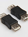 USB 2.0 typ A hona till hona sladd kabel kopplingsanordning omvandlare kontakt växlare extender kopplare