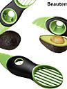 3in1 multifuncțional tăietor avocado slicer peeler&îndepărtarea de bază de vânzare fierbinte instrument de bucatarie