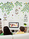 Djur Romantik Mode Ord & Citat Tecknat Botanisk Väggklistermärken Animal Wall Stickers Dekrativa Väggstickers, Vinyl Hem-dekoration