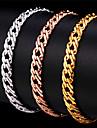 Brățări cu Lanț & Legături Brățară La modă Strat dublu costum de bijuterii Circle Shape Bijuterii Pentru Ocazie specială Zi de Naștere