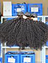 Eurasiskt hår Klassisk Curly Weave Afro Sexigt Lockigt Hårförlängning av äkta hår 3 delar Hög kvalitet Heta Försäljning 0.3 Dagligen