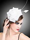 Cristal Material Textil organza Diademe Palarioare Flori agrafa 1 Nuntă Ocazie specială Party / Seara Diadema