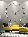 mare decor acasă de metal DIY perete ceas de personalitate creatoare 12s008